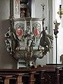 Warstein, Alte Kirche St. Pankratius 14-Pulpit.JPG