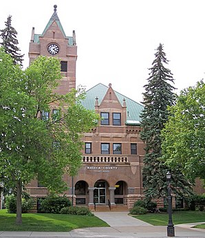 Waseca County Courthouse, gelistet im NRHP Nr. 82003070[1]