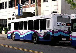 Wave Transit bus in downtown Wilmington, North Carolina.jpg