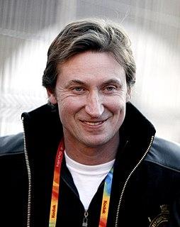 Wayne Gretzky Canadian ice hockey player