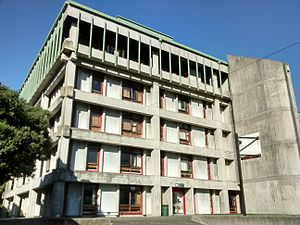 Wellington High School (New Zealand) - The neo-brutalist architecture of WHS