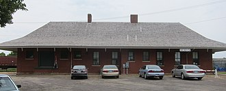 National Register of Historic Places listings in Faribault County, Minnesota - Image: Wells Depot 2