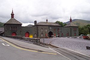 Dinorwic Quarry - The Welsh Slate Museum located in Gilfach Ddu