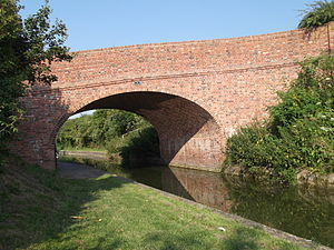 Wendover Arm Canal - Reinstatement of Little Tring Road bridge was completed in 2001.