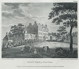 West View of Clytha