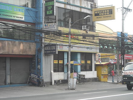 A Western Union outlet in Angeles City, Philippines Western Union Philippines.jpg