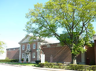 Westmoreland Museum of American Art - Main entrance on Park Street before remodelling