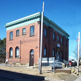 Westville, Nova Scotia - The Westville post office was built sometime between 1904 and 1916.