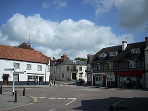 Whitchurch, Hampshire - Image: Whitchurch 1