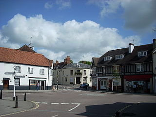 Whitchurch, Hampshire town and civil parish in Basingstoke and Deane, Hampshire, England