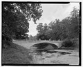 White Bridge, elevation, NPS route 10, view SW. - White Bridge, Spanning Crum Elbow Creek, Hyde Park, Dutchess County, NY HAER NY-318-4.tif