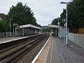 Whyteleafe station look north.JPG