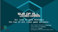 WikidataCon 2019 - Sum of all video games.pdf
