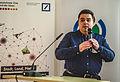 Wikidata Birthday Talk Magnus Manske.jpg