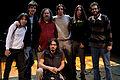 Wikimania 2009 - Richard Stallman en el teatro Alvear con asistentes (8).jpg