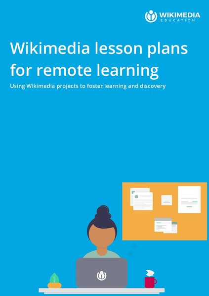 File:Wikimedia lesson plans for remote learning.pdf