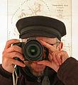 Wikipedianer mit Elbsegler Muetze.jpg