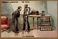Wilhelm Conrad Roentgen looking into an X-ray screen placed Wellcome L0027361.jpg