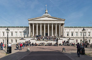 Mortimer Wheeler - Wheeler undertook his BA and MA at University College London (pictured)