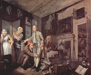 A Rake's Progress - Image: William Hogarth 021