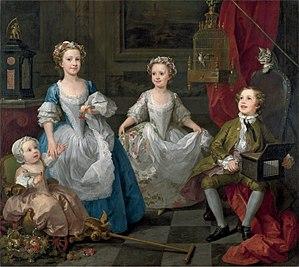 The Graham Children - Image: William Hogarth 047