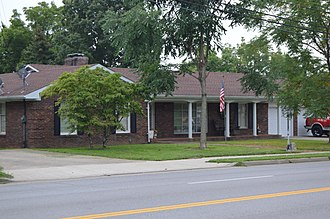National Register of Historic Places listings in Garrard County, Kentucky - Image: William O. Bradley House site