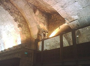 Wilson's Arch (Jerusalem) - Women's section/balcony, Wilson's Arch prayer area
