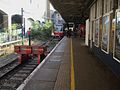 Wimbledon station Tramlink platform 10 look south.JPG