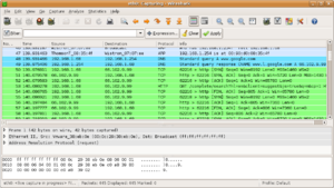 300px Wireshark screenshot Parseando pcaps con tshark