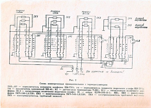 file wiring diagram of ussr electric stove jpg other resolutions 320 × 229 pixels