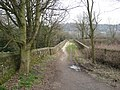 Wirksworth - Bridge over the Ecclesbourne Valley Railway - geograph.org.uk - 1184582.jpg