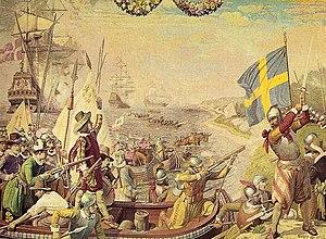 Kalmar War - Image: Wojna Kalmarska 1611 ubt