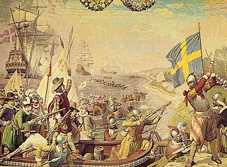 Military history of Sweden - Depiction of the Kalmar War. The conflict, lasting from 1611 to 1613, was fought between Denmark–Norway and the Kingdom of Sweden.
