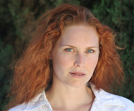 Red hair only occurs in 1-2% of the human population Woman redhead natural portrait 1.jpg