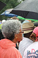 Woman with gray afro listening to speeches - 50th Anniversary of the March on Washington for Jobs and Freedom.jpg