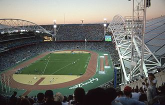 Stadium Australia - Athletics events at Stadium Australia during the 2000 Summer Olympics