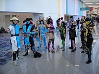 WonderCon 2012 - Mortal Kombat cosplay.jpg