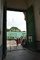 Wooden Main Door - Imambara - Chinsurah - Hooghly - 2013-05 7861.JPG