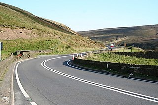 A628 road Road in Northern England