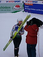 World Junior Ski Championship 2010 Hinterzarten Jacqueline Seifriedsberger 139.JPG