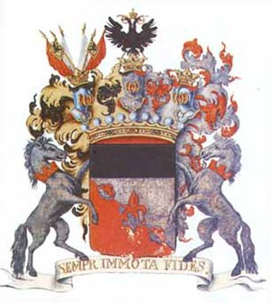 Yekaterina Vorontsova-Dashkova -  Coat of arms of the Vorontsov family
