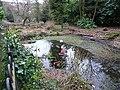 Wot no ducks^ Bedwellty Park, Tredegar - geograph.org.uk - 1183099.jpg