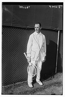 Beals Wright American tennis player