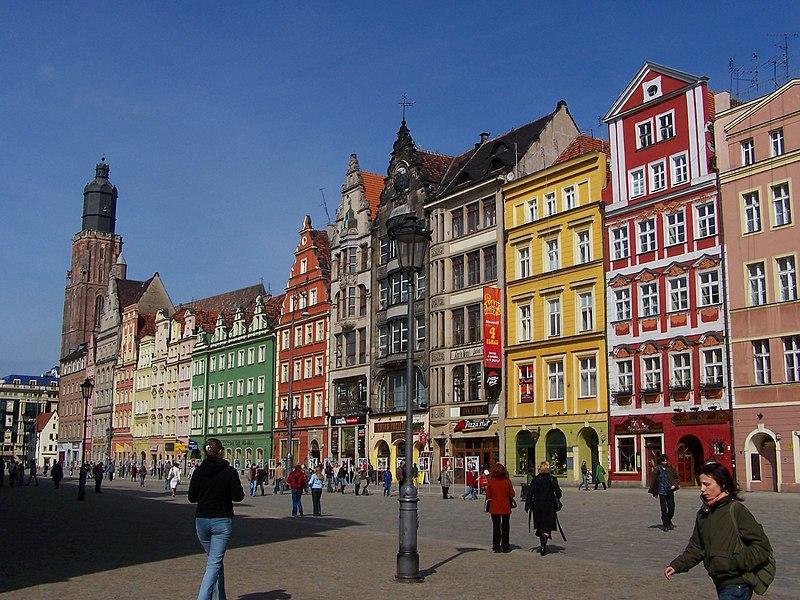 File:Wrocław - Rynek 1.JPG