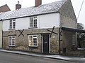 X-tra large wall bracing. East Road, Oundle - geograph.org.uk - 1714566.jpg