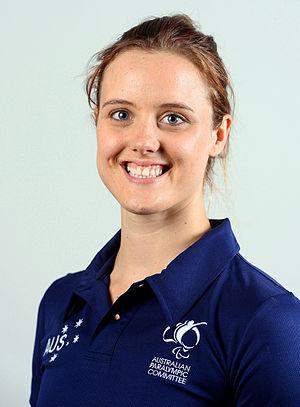 Ellie Cole - 2016 Australian Paralympic Team portrait