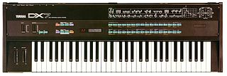 Yamaha DX7 synthesizer model