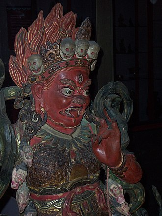 Tibetan art - Dharmapala, Field Museum, Chicago.