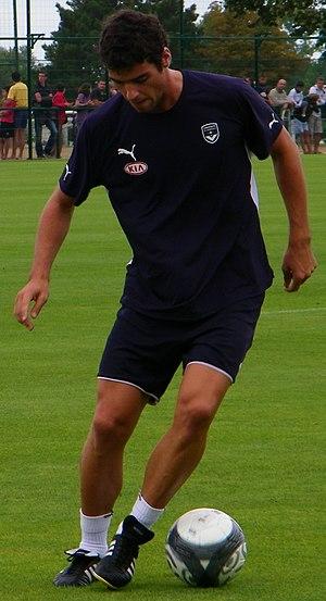 Yoann Gourcuff - Gourcuff during an August 2009 training session