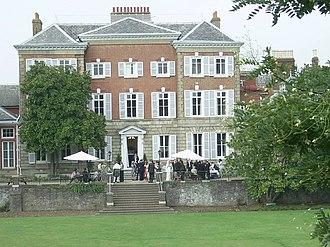 York House, Twickenham - York House (rear view from sunken lawn)